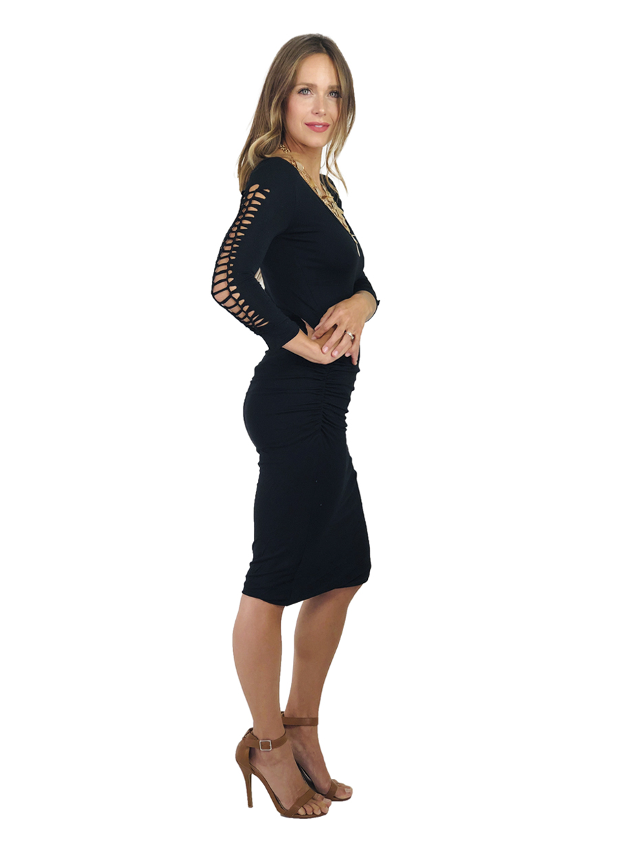 Agho Roused Dress  |  Black