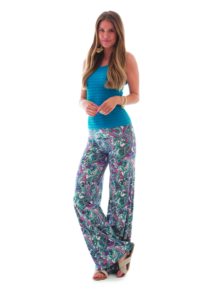 Palazzo Pant | Crazy for Paisley