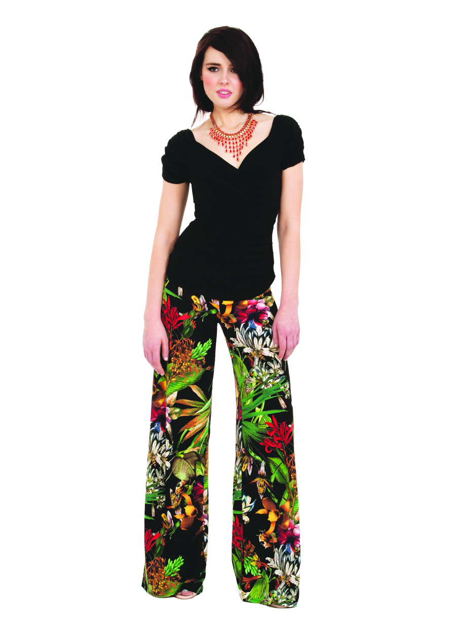 Palazzo Pant | Tropical Breeze